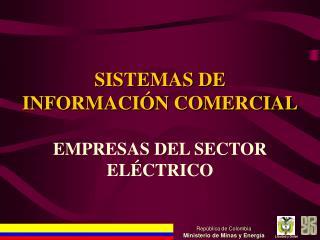 SISTEMAS DE INFORMACIÓN COMERCIAL