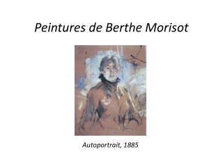 Peintures de Berthe Morisot