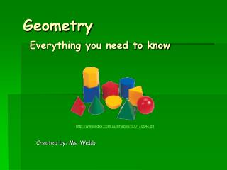 Geometry Everything you need to know