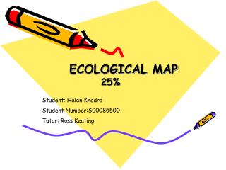 ECOLOGICAL MAP 25%