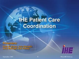 IHE Patient Care Coordination