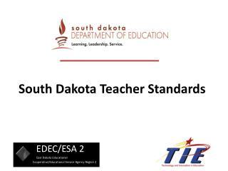 South Dakota Teacher Standards