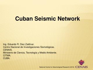 Cuban Seismic Network