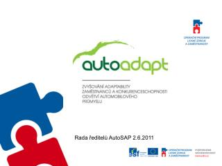 Rada ředitelů AutoSAP 2.6.2011