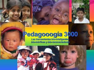 Pedagooogía  3000 Las herramientas  bio -inteligentes,  bio -mórficas y  bio - reconectadoras