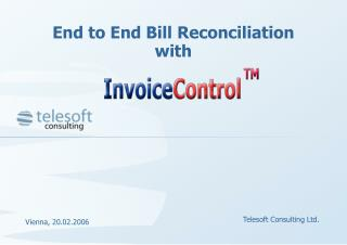 End to End Bill Reconciliation with