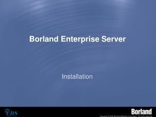 Borland Enterprise Server