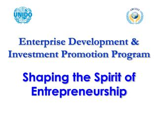 Shaping the Spirit of Entrepreneurship