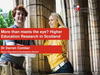 More than meets the eye? Higher Education Research in Scotland