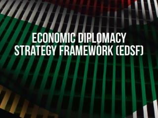 Economic Diplomacy Strategic Framework – EDSF