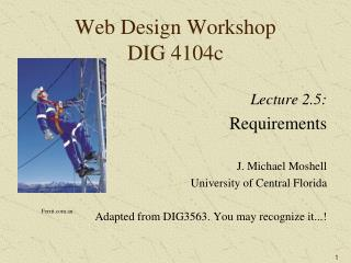 Web Design Workshop DIG 4104c