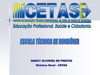 ESCOLA TÉCNICA DE RONDÔNIA