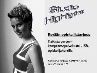 Studio Highlight