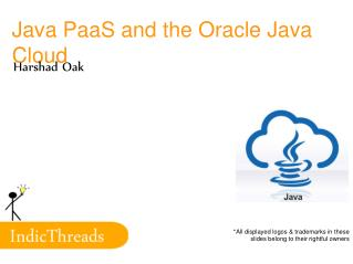 Java PaaS and the Oracle Java Cloud
