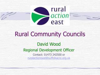 Rural Community Councils