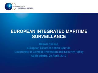 EUROPEAN INTEGRATED MARITIME SURVEILLANCE