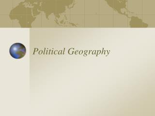 Political Geography