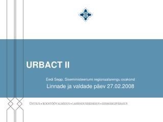 URBACT II