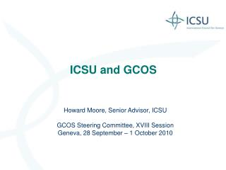 ICSU and GCOS