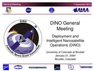 DINO General Meeting