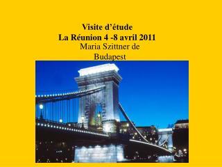 Visite d'étude  La Réunion 4 -8 avril 2011