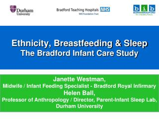 Ethnicity, Breastfeeding  Sleep The Bradford Infant Care Study