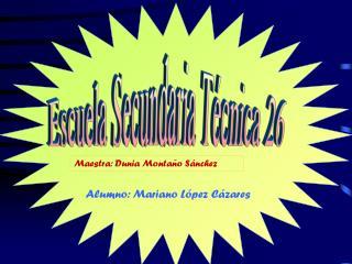 Escuela Secundaria Técnica 26