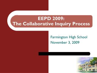 EEPD 2009: The Collaborative Inquiry Process