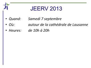 JEERV 2013