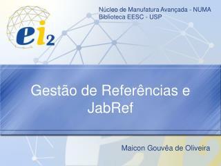 Gestão de Referências e JabRef