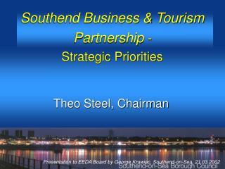 Southend Business & Tourism Partnership  -  Strategic Priorities