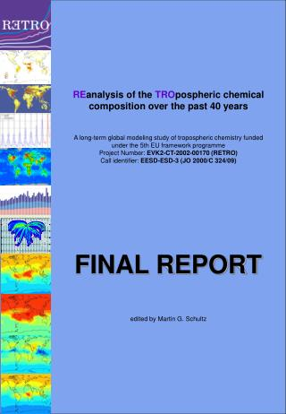 RE analysis of the  TRO pospheric chemical composition over the past 40 years