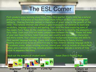 The ESL Corner