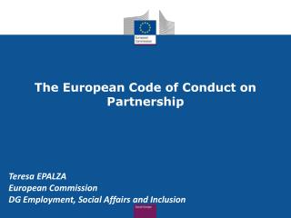 The European Code of Conduct on Partnership