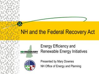 NH and the Federal Recovery Act