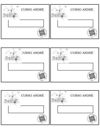 CURSO ANDRÉ
