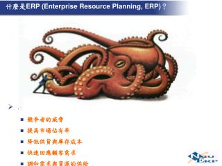 什麼是 ERP (Enterprise Resource Planning, ERP) ?