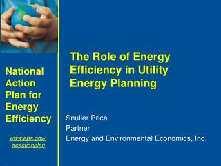 Snuller Price Partner Energy and Environmental Economics, Inc.