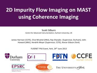 2D Impurity Flow Imaging on MAST using Coherence Imaging