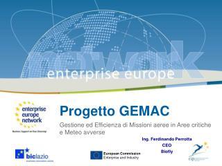 Progetto GEMAC