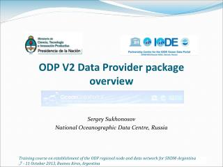 ODP V2 Data Provider package overview