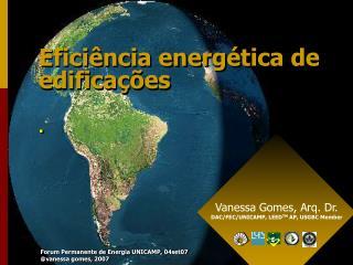 Eficiência energética de edificações