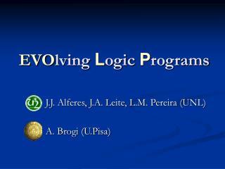 EVO lving  L ogic  P rograms