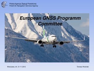 European GNSS Programm Committee