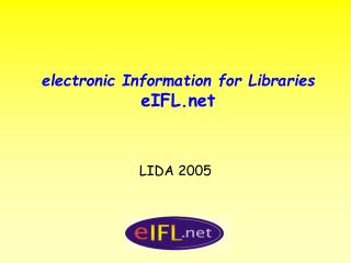 electronic Information for Libraries eIFL