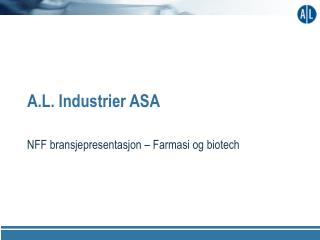 A.L. Industrier ASA