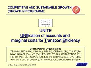 COMPETITIVE AND SUSTAINABLE GROWTH  (GROWTH) PROGRAMME