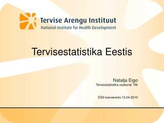 Tervisestatistika Eestis