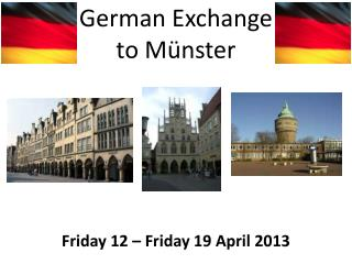 German Exchange to Münster