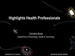 Highlights Health Professionals